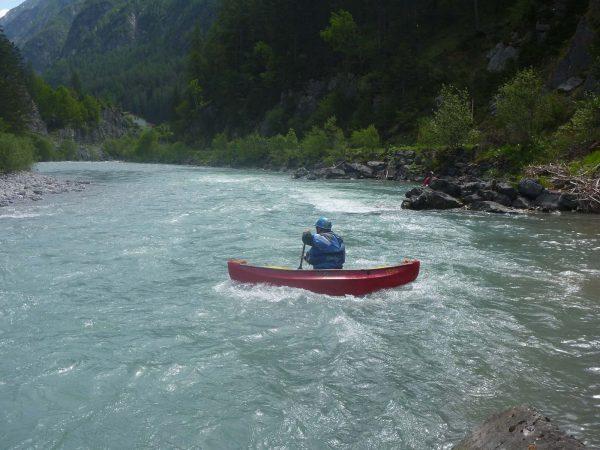 Open Canoe Solo am Lech