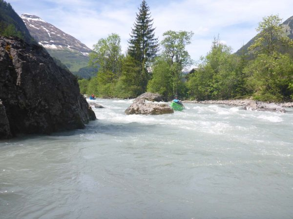 Paddeln in Tirol - Kanufahren am Lech