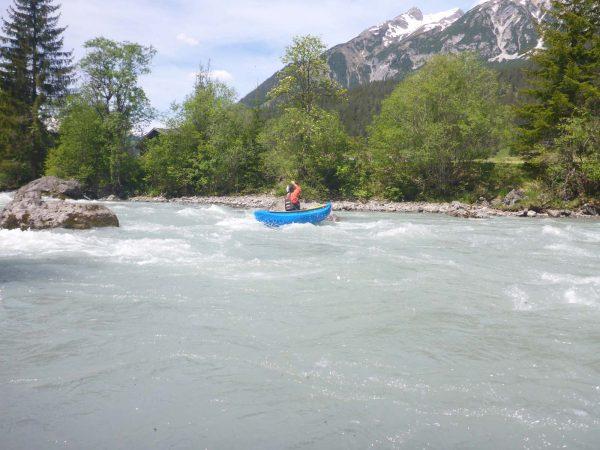Paddeln in Tirol - Kanufahren im Lechtal