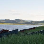 Paddeln in der Mongolei 2015